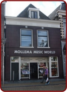 Mollema Music World winkelpand