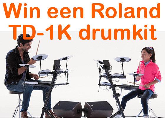 Win een Roland TD1K