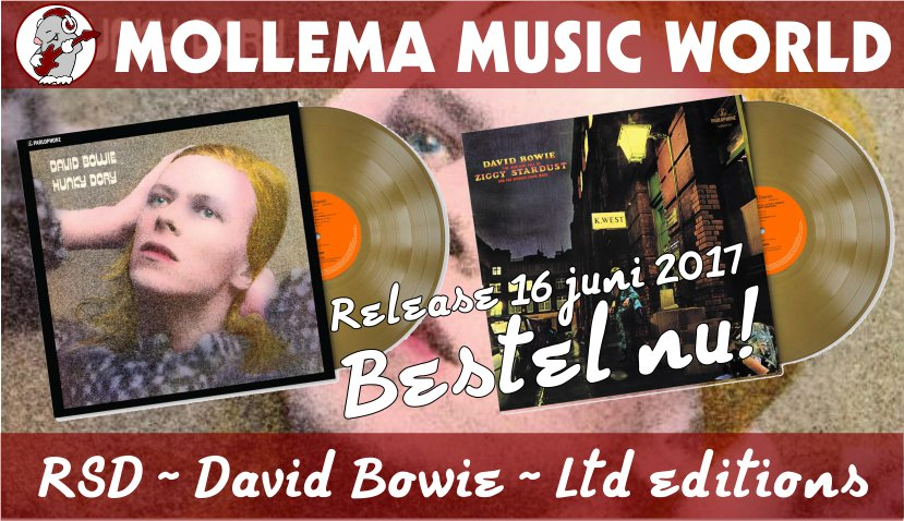 David Bowie RSD limited releases