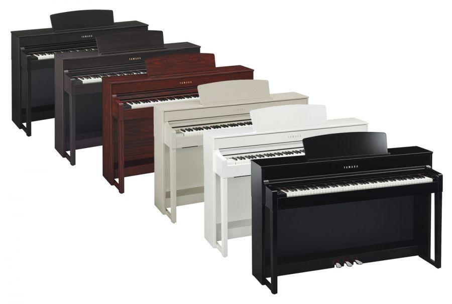Yamaha piano's