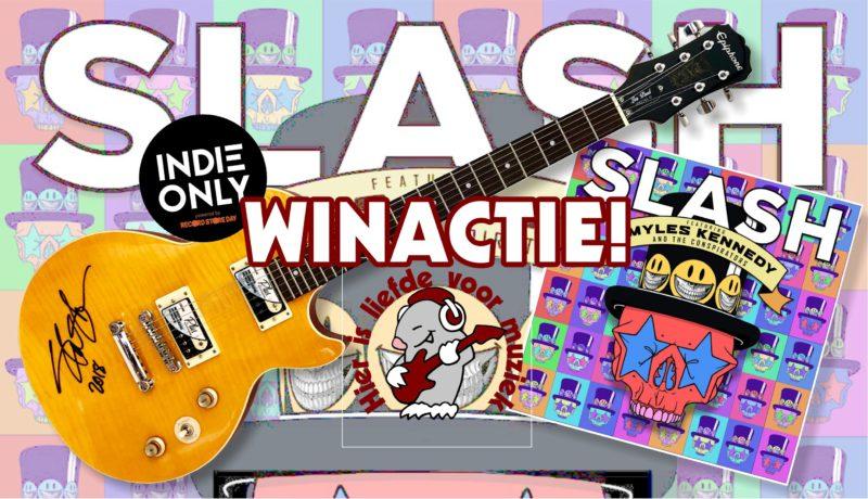 Slash Les Paul gitaar winactie
