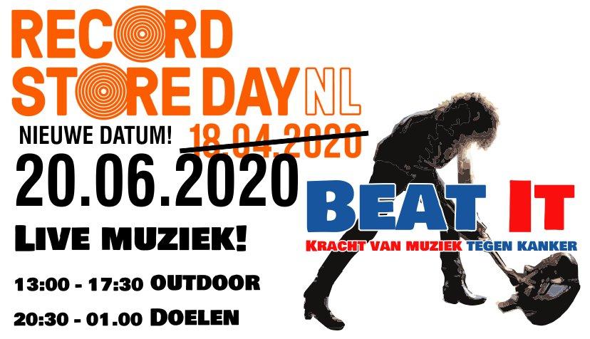 Record Store Day 2020 in Franeker. Nieuwe datum.