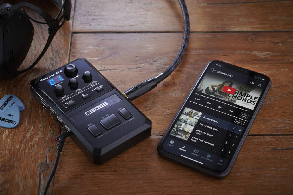 Pocket GT als leermedium voor gitaristen